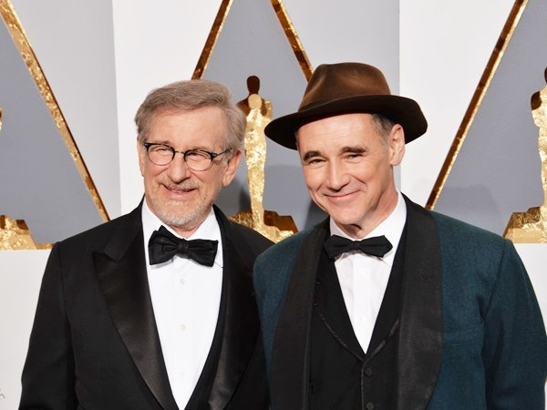 Spielberg and Rylance
