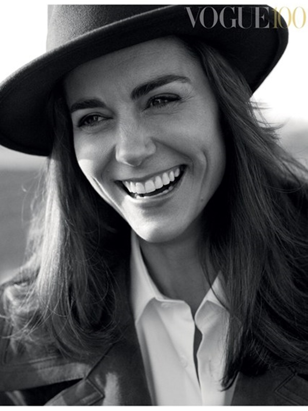 Kate For Vogue 1