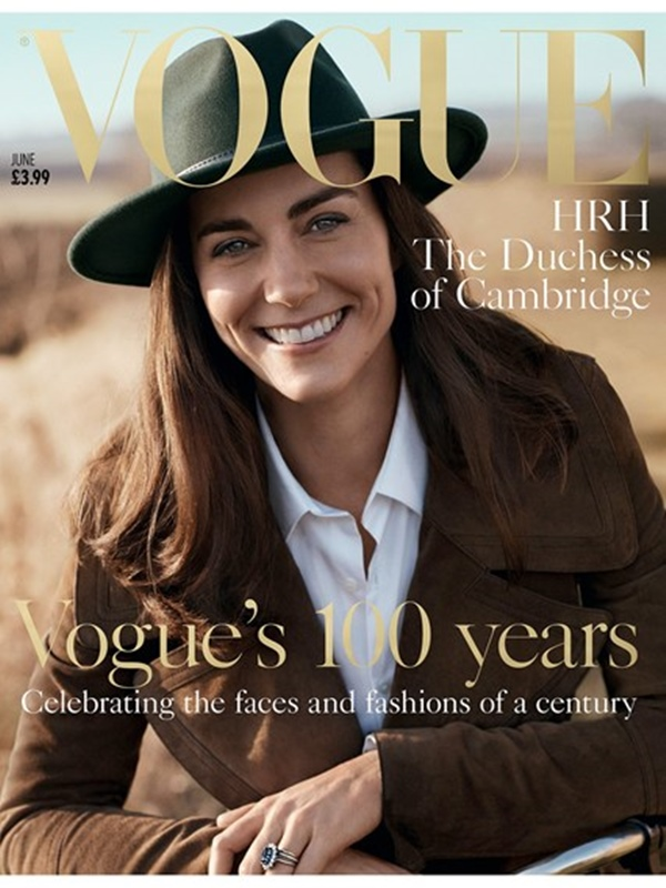 Kate For Vogue 3