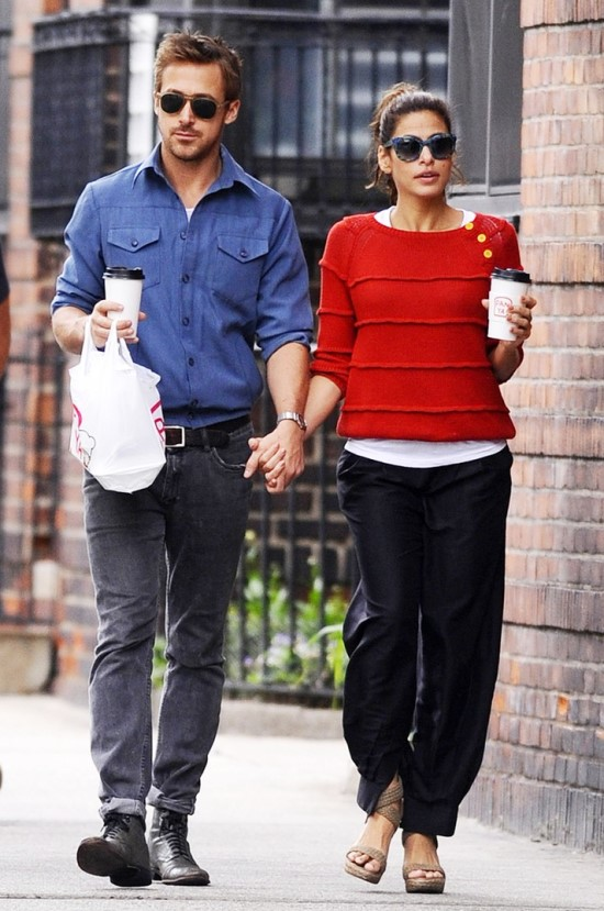 Ryan Gosling and Eva Mendes 1