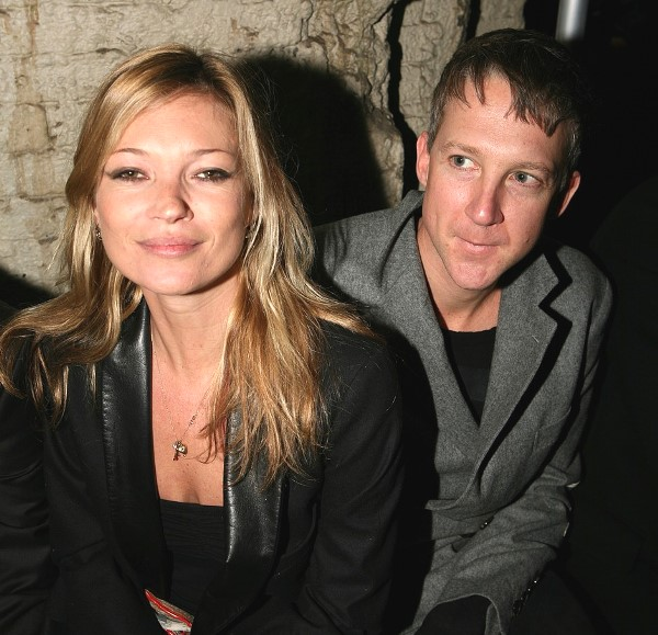 Kate Moss and her ex Jefferson Hack seen at the James Small catwalk as part of London Fashion Week, held at the SH Vaults, London., Image: 105041890, License: Rights-managed, Restrictions: None, Model Release: no, Credit line: Profimedia, Press Association